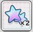 キャラスター(中)×2