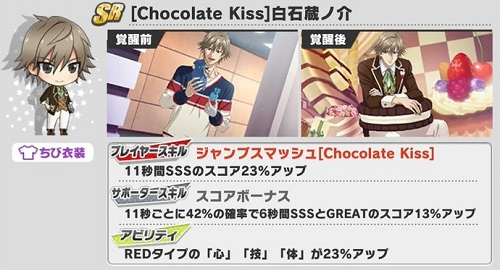 [Chocolate Kiss]白石蔵ノ介