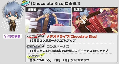 [Chocolate Kiss]仁王雅治