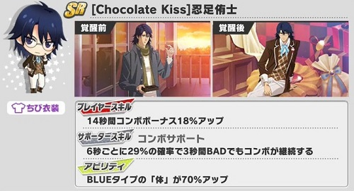 [Chocolate Kiss]忍足侑士