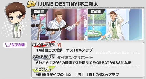 [JUNE DESTINY]不二裕太