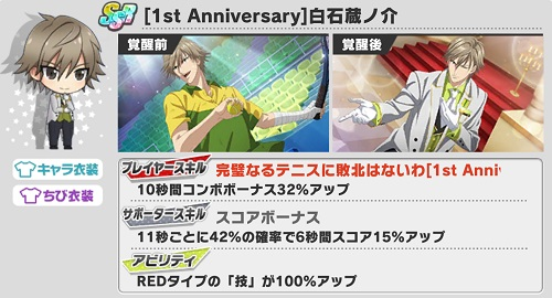 [1st Anniversary]白石蔵ノ介