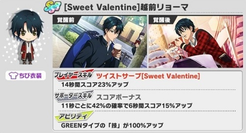 [Sweet Valentine]越前リョーマ