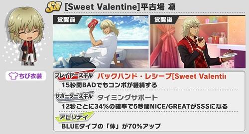 [Sweet Valentine]平古場凛