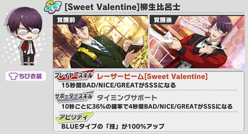 [Sweet Valentine]柳生比呂士