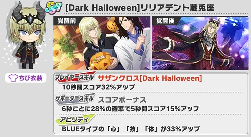 [Dark Halloween]リリアデント蔵兎座