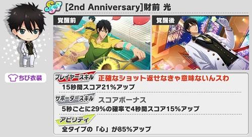 [2nd Anniversary]財前光