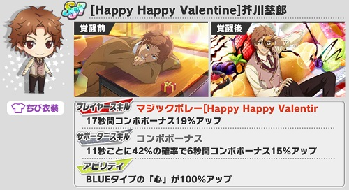 [Happy Happy Valentine]芥川慈郎