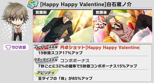 [Happy Happy Valentine]白石蔵ノ介